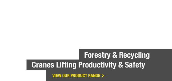 Forestry and Recycling Cranes Lifting Productivity and Safety